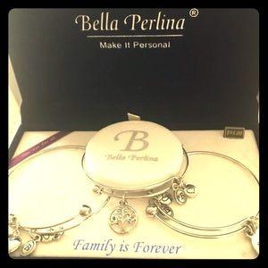 Bella Perkins Family Tree Bracelet Set